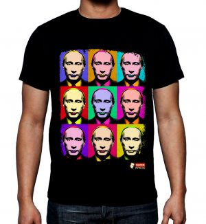 купить футболку с изображением Российского президента Владимира Владимировича Путина